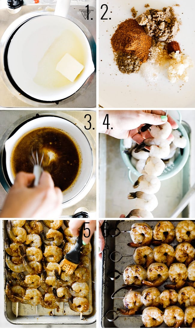 How to make shrimp on the barbie.