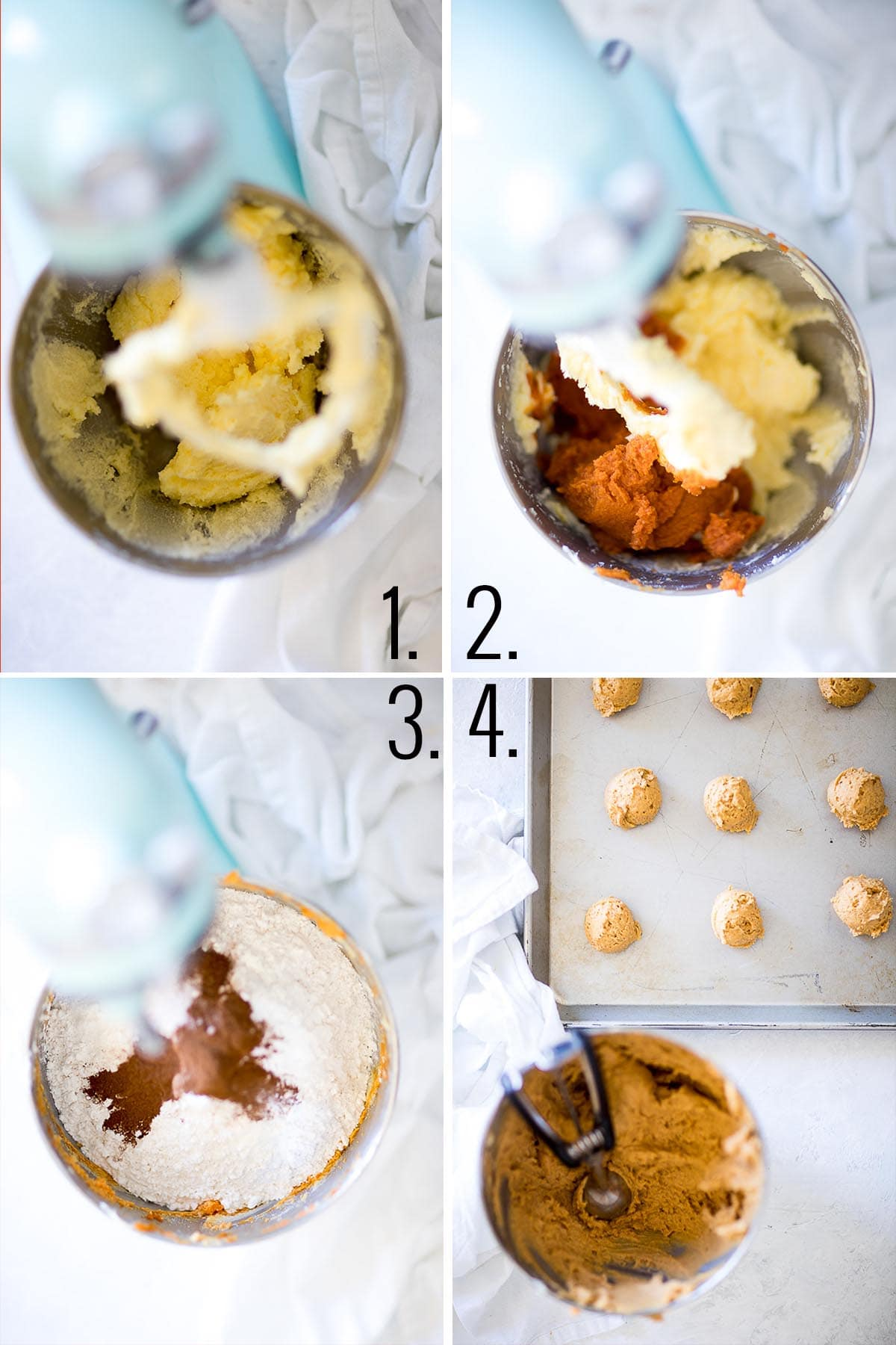 How to make soft pumpkin cookies.